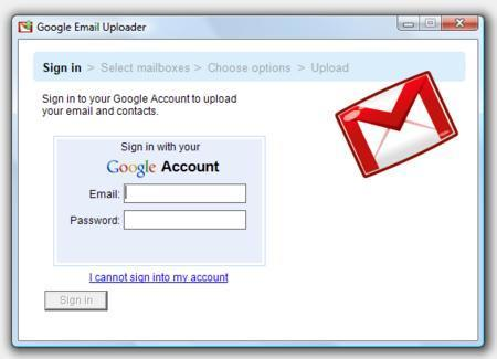 The Gmail Uploader